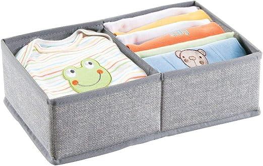 mDesign Organizador para bebe - Cajones organizadores para cosas ...
