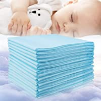 Baby Disposable Changing Pad, 20Pack Soft Waterproof Mat, Portable Diaper Changing...