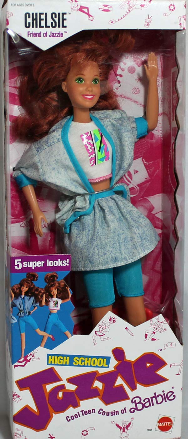 Barbie High School Jazzie CHELSIE Doll (1988 Mattel Hawthorne)