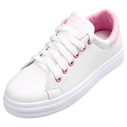 18f0855519235 Kivors Sneaker Donna Donna Sportive Outdoor Scarpe da Ginnastica Basse  Scarpe Casual Retrò  Amazon.it  Scarpe e borse