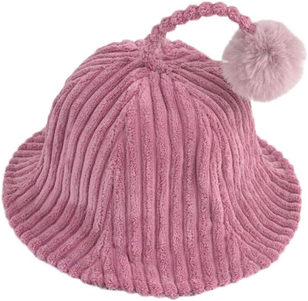 Winter Kids Boys and Girls Corduroy Caps Head Cap Warm Money Lovely Caps