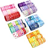 60yards,12yards/range,5 ranges,1yard/piece Grosgrain and Satin Ribbon assortment Style/size randomly