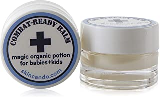 product image for COMBAT READY SKIN CREAM - BALM FOR BABIES - 0.125oz by Skincando – 2 Pack - All Natural - Intensive Moisturizer For Babies – Baby Skin Rash Cream - Organic Ingredients