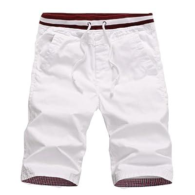 Alion Men's Summer Casual Loose Drawstring Shorts
