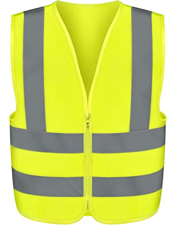 Security & Protection Orange Work Reflective Jacket Safety Mesh Vest With 3m Tape Fancy Colours