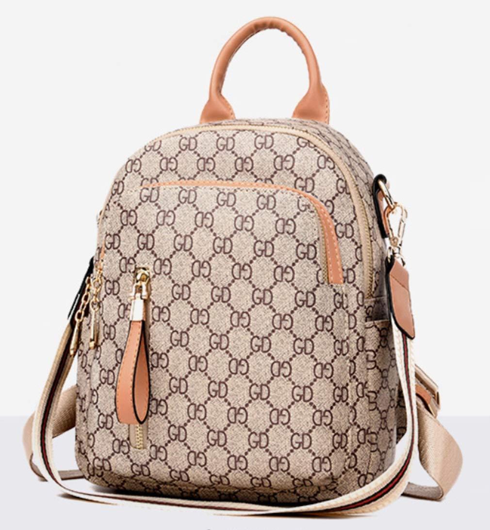 RSQJ Female Bag Shoulder Bag Small Bag Leisure Multi-Function Backpack (Color : C, Size : 22102cm) by RSQJ backpack (Image #5)