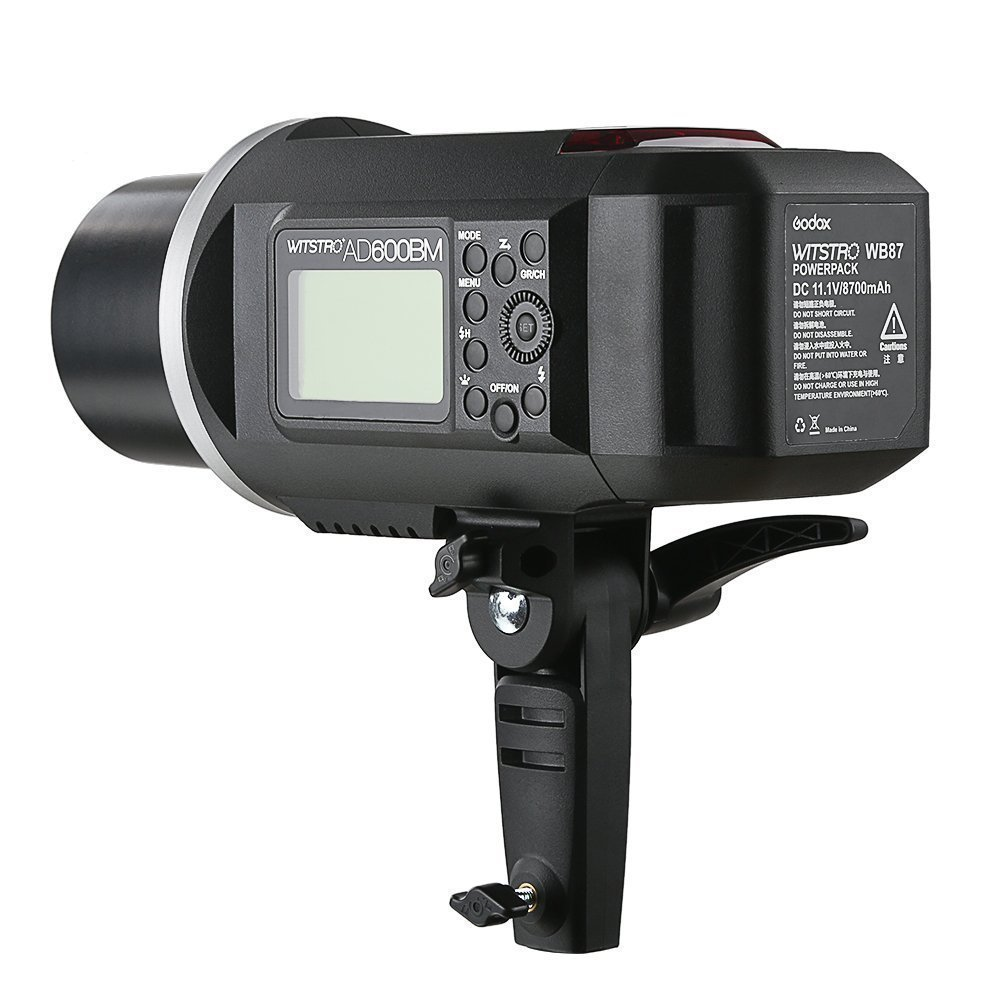 Godox AD600BM AD sync 1 / 8000s 2.4G Wireless Flash Light Speedlite,Godox XPro-C for Canon Cameras,AD-H600B Head,PB-600 Bag,CB-09 Suitcase Carry Bag,LETWING Camera Neck Strap by Godox (Image #4)