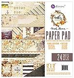 Prima Marketing Amber Moon-12X12 Paper Pad