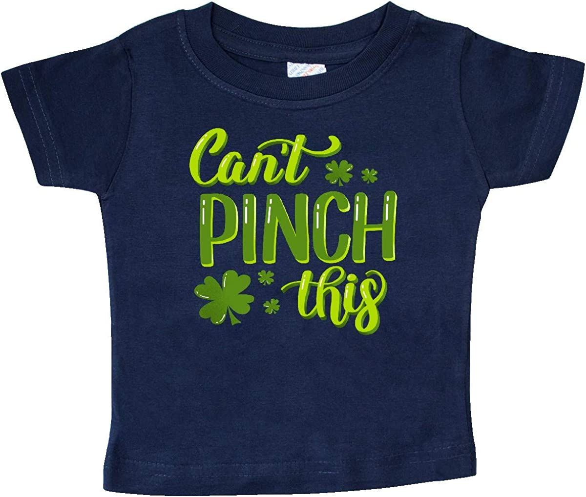 inktastic St Patricks Day Cant Pinch This Hand Lettering Baby T-Shirt