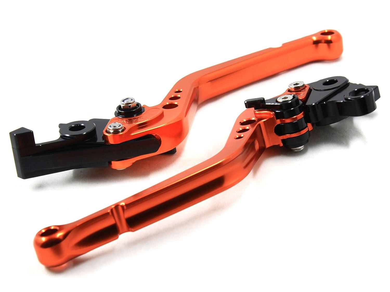 2013 Pro orange CNC Kupplung Bremshebel-Set f/ür Duke 125/2012 2013/Duke 200/2012 2013/Duke 390/2012
