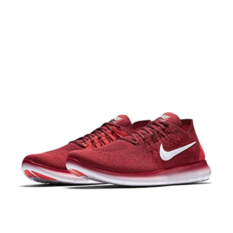 huge discount 658e9 3d147 ... low price nike free rn flyknit 2017 zapatillas de trail running para hombre  rojo team 0f344