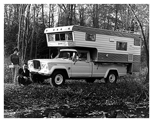 1969 Jeep Gladiator Camper Truck Factory Photo
