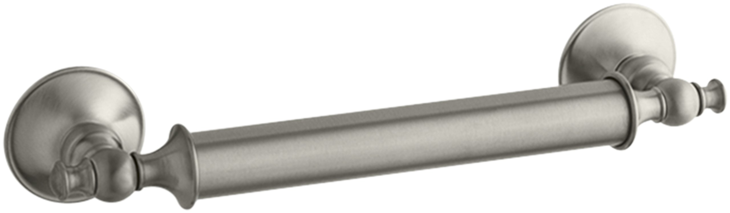Kohler K-11871-BN Traditional 12'' Grab Bar, Vibrant Brushed Nickel