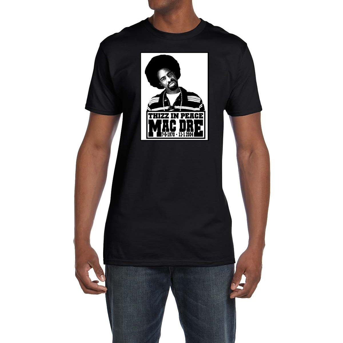 Amazon com: Mac Dre Thizz In Peace T Shirt Classic Hip Hop Bay Area