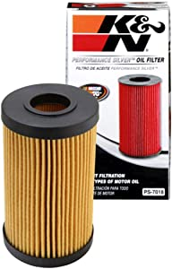 K&N Premium Oil Filter: Designed to Protect your Engine: Fits Select 2005-2020 LEXUS/TOYOTA/FORD (LC500, LX570, GS F, RC F, IS F, Camry, Land Cruiser, Sequoia, Tundra, Escape), PS-7018