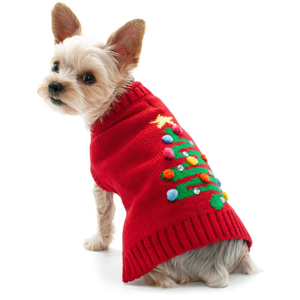 XXS DOGO Christmas Tree Sweater (XXS)