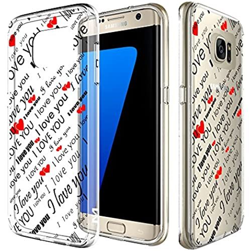 S7 Edge Case, MagicSky [Air Hybrid] Shock-Absorbing Anti-Scratch Ultra Slim Bumper Case with Clear Back Panel Cover for Samsung Galaxy S7 Edge (I Sales