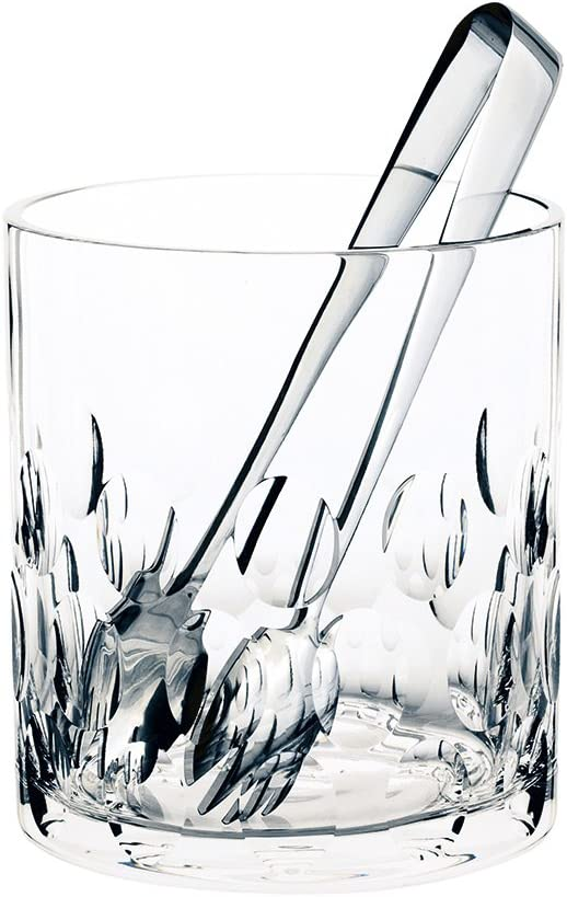 Clear Royal Brierley Deauville Ice Bucket