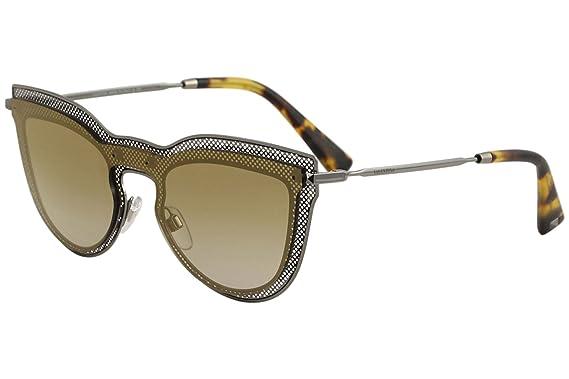 a979263f1ffcd Image Unavailable. Image not available for. Color: Valentino VA2018 VA/2018  3005/6E Gunmetal Fashion Cat Eye Sunglasses 33mm