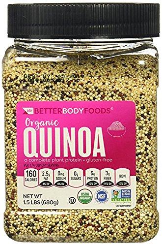 Betterbody Foods Organic Quinoa  1 5 Pound