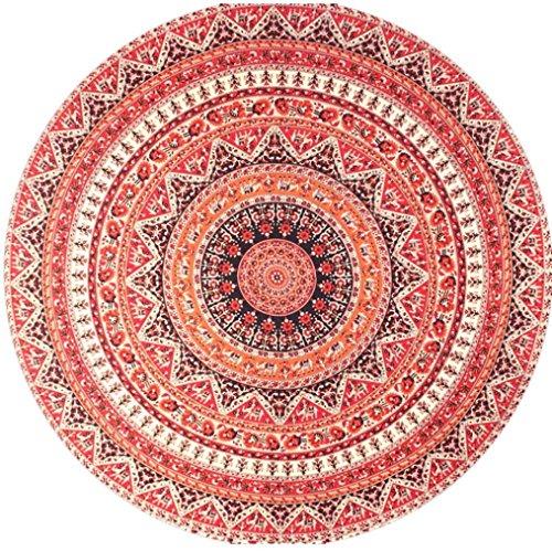 Hill Modern Bedspread (Tapestry Hippy Gypsy Tablecloth, Franterd Bikini Cover Up Pool Home Beach Blanket Beach Towel Yoga Mat (L))