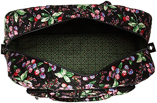 61TufhgKsfL - Vera Bradley Women's Iconic Grand Weekender Travel Bag-Signature