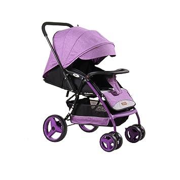 BBZZZ B-Baby Cart Puede Sentarse se Puede acostar Baby Paraguas Coche Ligero Plegable Neonatal