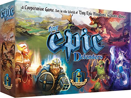 Tiny Epic Defenders 2nd Edition Strategy Board Game for Adults, Teens, and Family