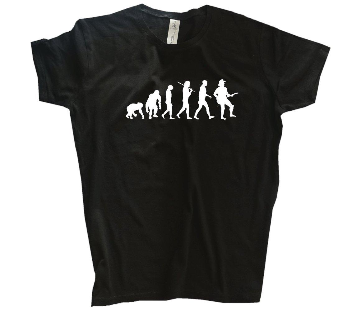 Shirtzshop T-shirt T-shirt T-shirt Evolution Lehrer B00PST83F2 T-Shirts Beliebte Empfehlung 833002