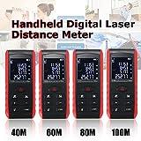 Digital Distance Meter Range Finder Measure Diastimeter 40m 60m 80m 100m