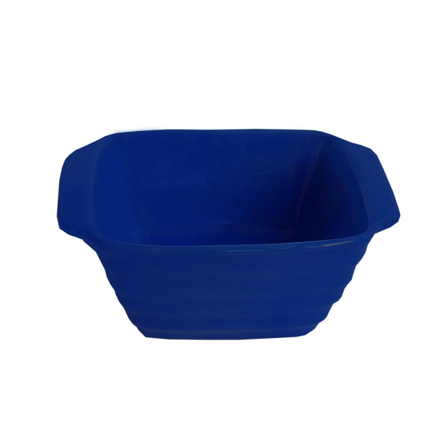 American Atelier Bistro Square Bake and Serve Bowl, Cobalt 6254-BKS-S