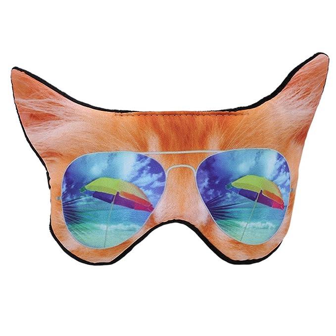 Máscara de dormir Jixing con correa ajustable para gato/perro, máscara de dormir para viajar, noche: Amazon.es: Bricolaje y herramientas