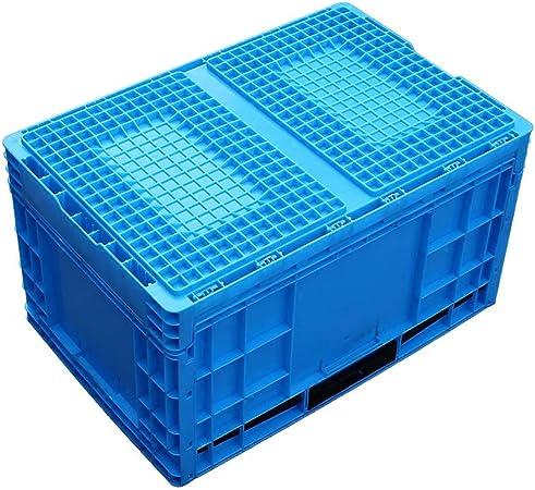 Compartimiento De Almacenamiento Versátil 2 Volumen De Negocios PAQUETE Plástico Plegable De La Caja De La Cesta De Fruta Plástico Caja Engrosamiento Multifuncional Caja Logística Del Transporte: Amazon.es: Hogar