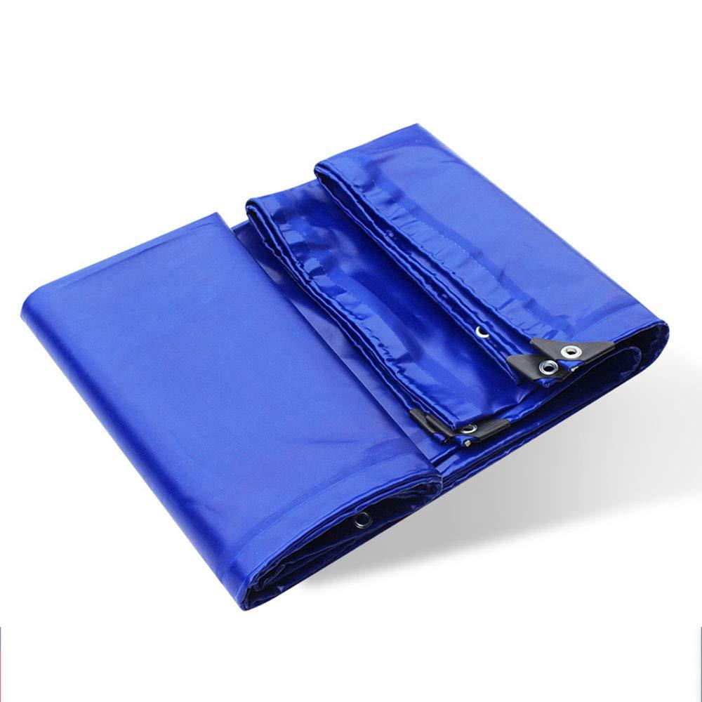 耐火布|難燃布|グラスファイバー被覆防水布 - 青、重量650g /平方 3*4M  B07Q7Q1K7K