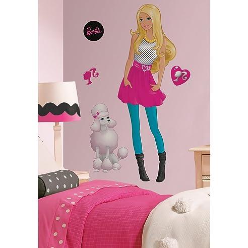 wandtattoo barbie
