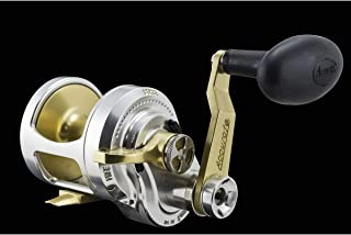 product image for Accurate Boss Fury FX2-500 Reel - Right-Hand - Silver/Gold