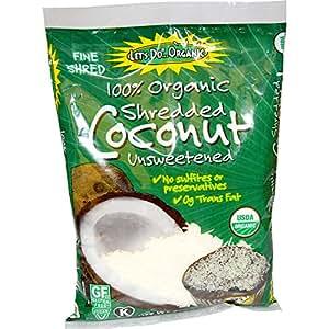 Edward & Sons, Organic Shredded Coconut, Unsweetened, 8 oz (227 g) Edward & Sons, Organic Shredded Coconut, Unsweetened, 8 oz (227 g) - 2pcs