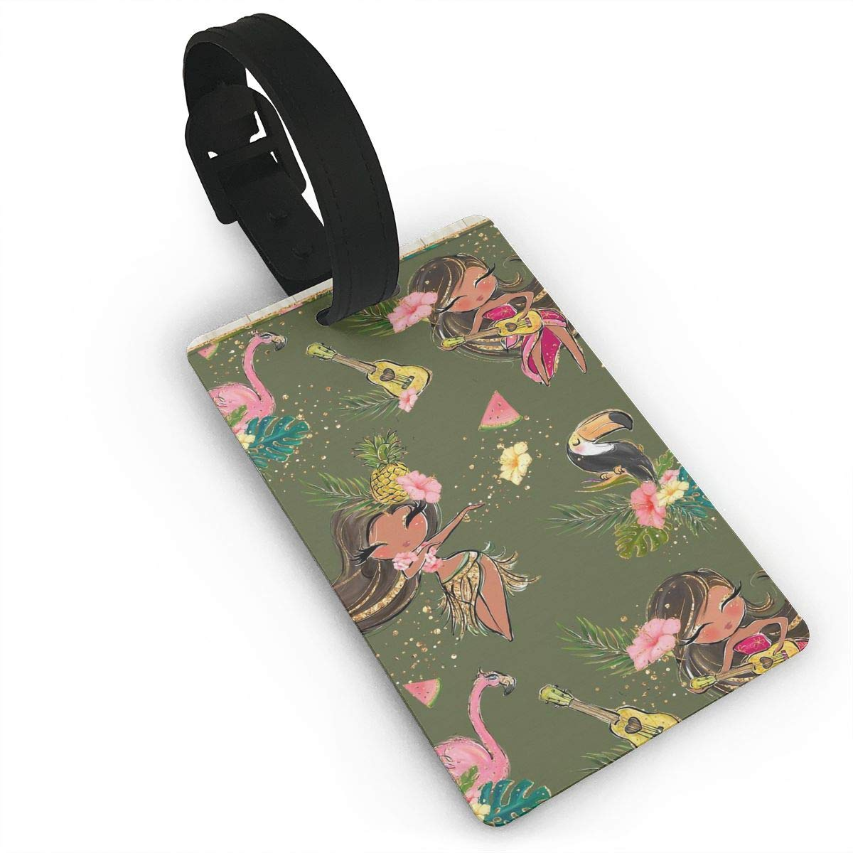 2 Pack Luggage Tags Toucans Handbag Tag For Travel Bag Suitcase Accessories