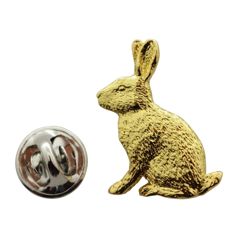 new Rabbit Pin ~ 24K Gold ~ Lapel Pin ~ Sarah's Treats & Treasures hot sale