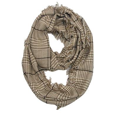 MRULIC Echarpes foulards femme Foulards chauds de dames élégantes  d impression rotative de rayure de 3676763bd70
