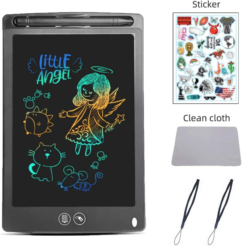 Color : Green , Size : 10 inches Computer Graphics Tablets Childrens Graffiti Board 8.5-inch Color LCD Tablet LCD Panel Electronic Drawing Board For Kids And Adults At Home School And Office