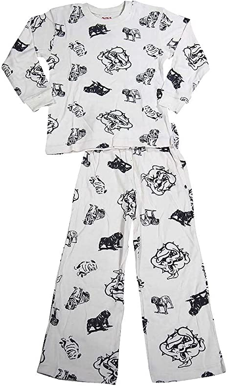 Wes and Willy Big Boys Long Sleeve Pajamas
