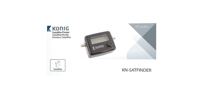 Instructions to use satellite db meter or sat finder, satellite finder.