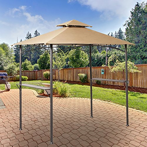 Garden Winds Replacement Canopy For Grill Gazebo Riplock