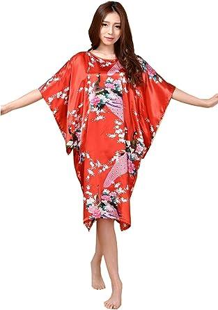 Camisones Mujer Elegantes Moda Casual Verano Albornoz ...