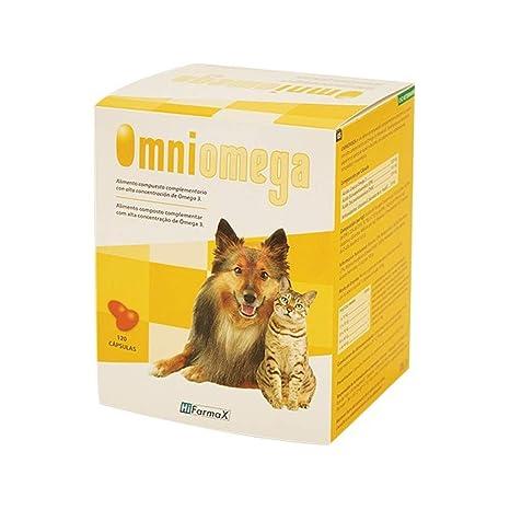 Hifarmax Omniomega Suplemento Alimenticio con Omega 3, DHA, EPA y Vitamina E para Perros