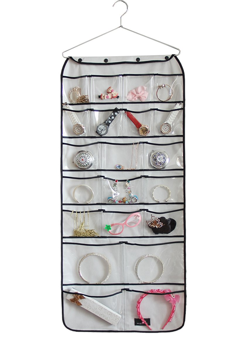 Misslo Hanging Closet Dual-Sided Organizers, 42 Pockets, 38.5 by 17.75-Inch by MISSLO (Image #6)