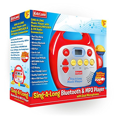 karaoke machine for kids singalong portable 2 microphone
