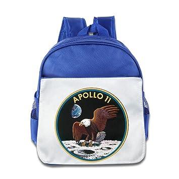 Jgighidrkfosaa Mochila escolar para bebé, diseño de astronauta, color azul: Amazon.es: Hogar