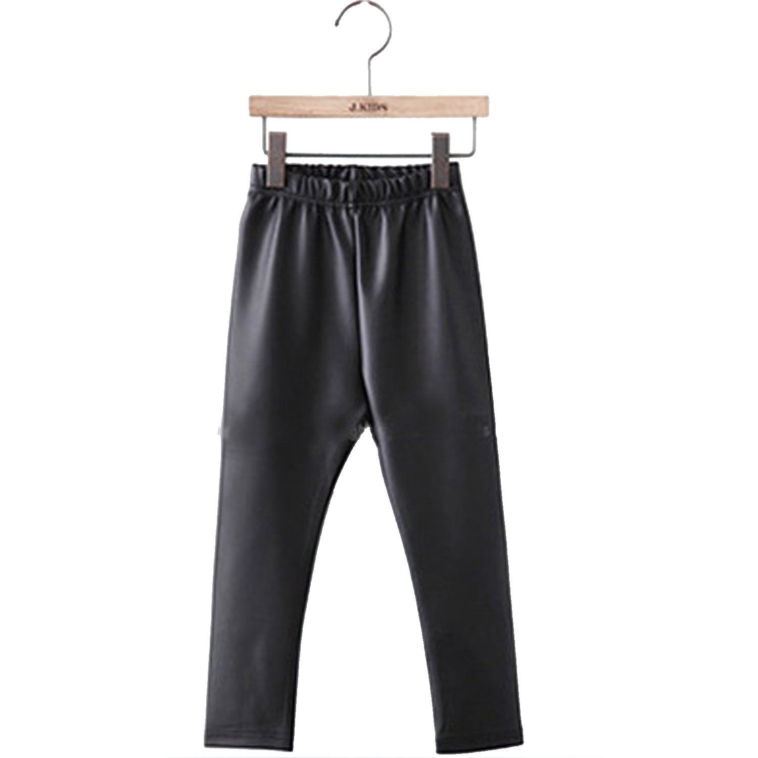 Tulucky Girls Stretchy Faux Leather Legging Teens Pants(darkblue,Tag140) by Tulucky (Image #5)